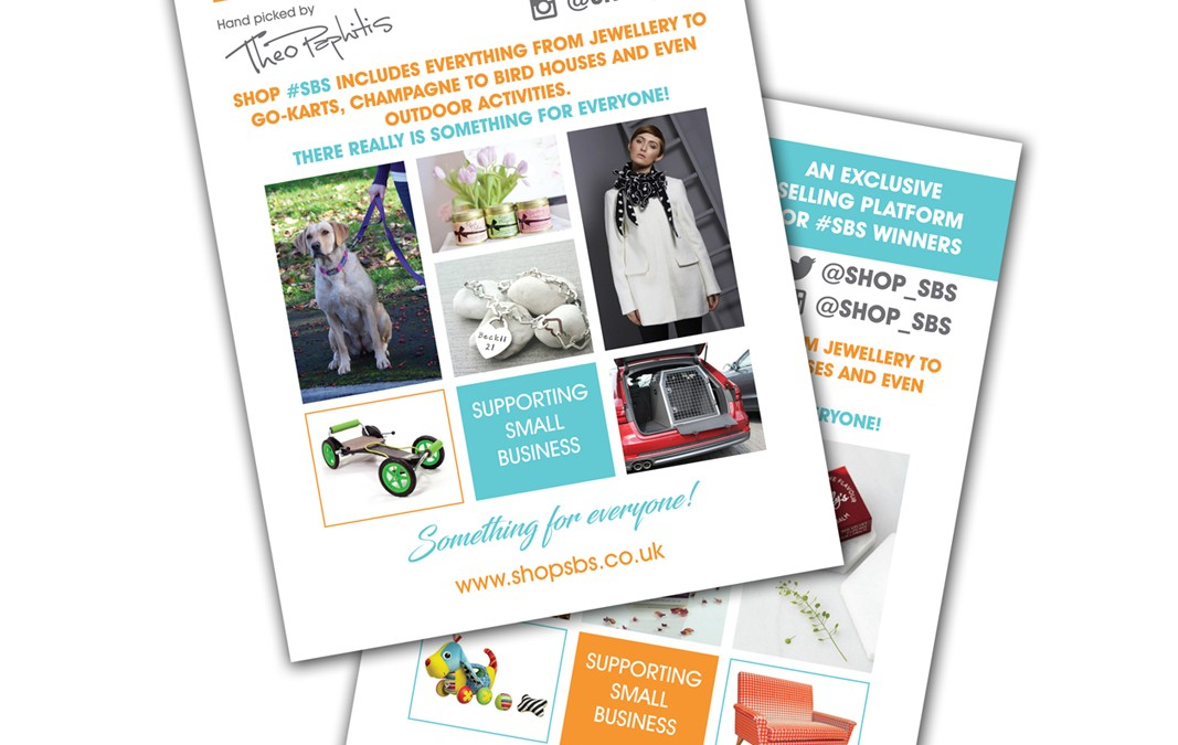 Shop #SBS A5 Leaflet Design