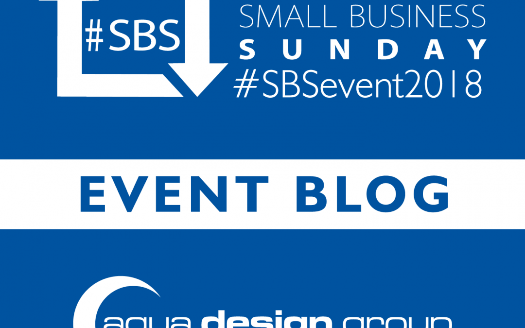 #SBSevent2018 Event Blog