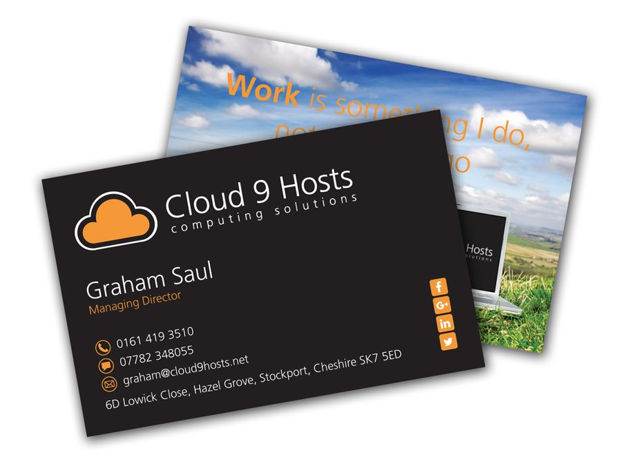 Cloud 9 Hosts Business Cards
