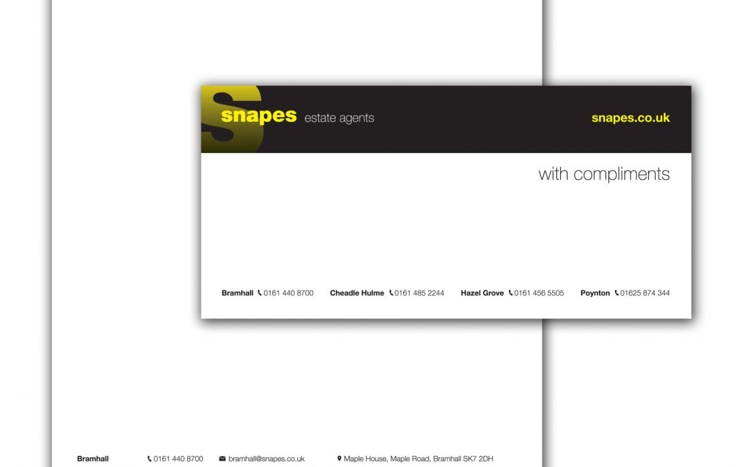 Snapes Estate Agents Stationery