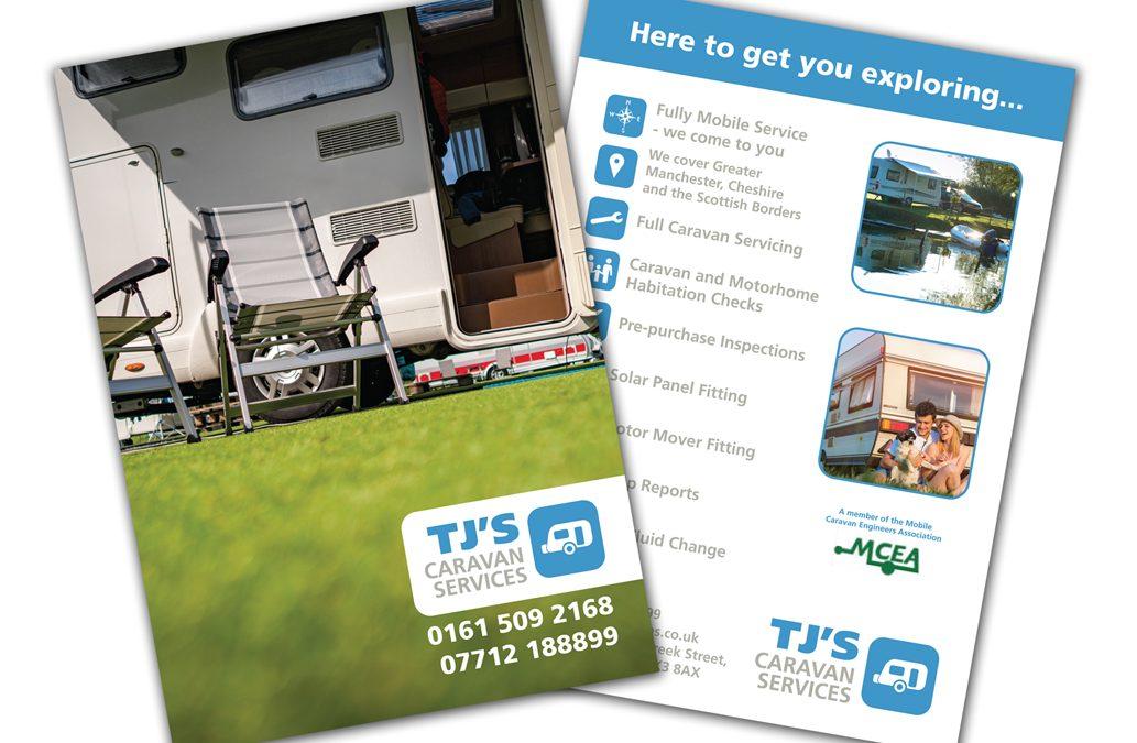 TJ's Caravan Services Leaflets