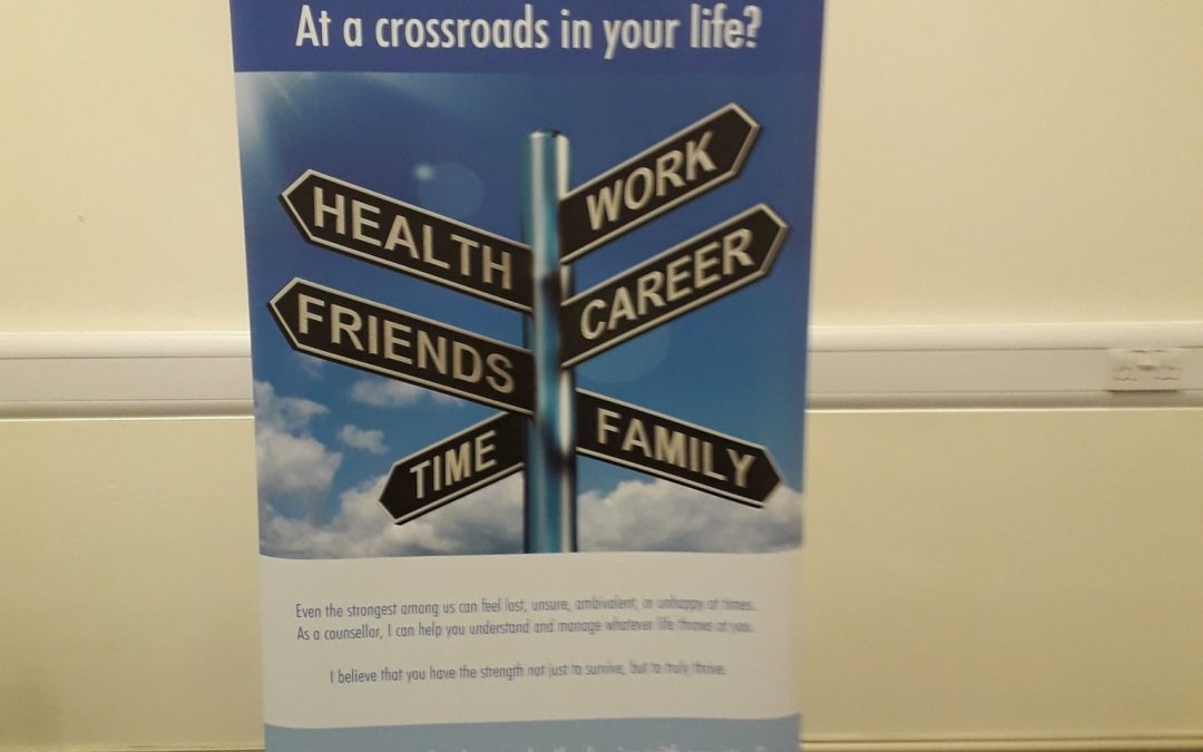 Susan Carr Counselling Roller Banner